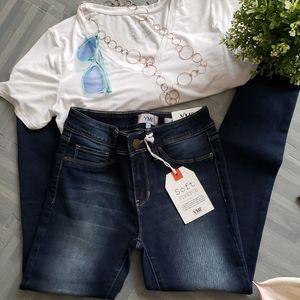 Never worn YMI Dark Wash Denim Jeans (Juniors)